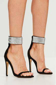 Missguided - Sandale chain mail cuff