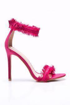 Public Desire - Sandale Effy Pink Denim