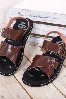 Sandale Bofigo maro