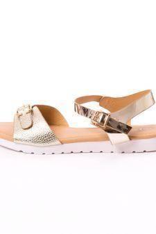 Sandale Dama Amazon Aurii
