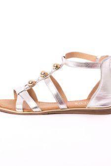 Sandale Dama Cu Bulbi Fity Argintii