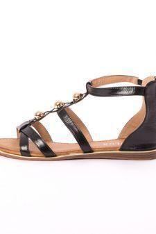 Sandale Dama Cu Bulbi Fity Negre