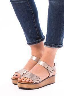 Sandale Dama Cu Platforma CoolNadia Argintii