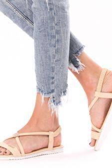 Sandale Dama Glow One Bej