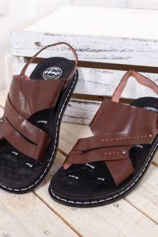 Sandale Deroli maro