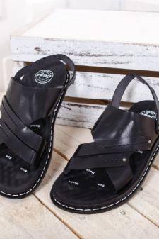 Sandale Deroli negre