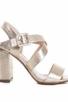 Sandale Lavida aurii elegante