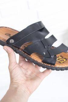 Sandale Munheli negre