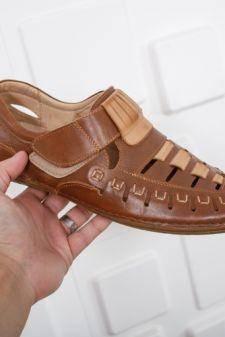 Sandale Piele Colines maro