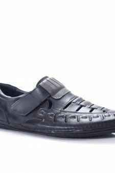 Sandale Piele Colines neagre