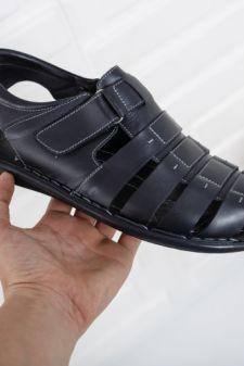 Sandale Piele Numani negre