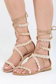 Sandale Selene Bej