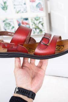 Sandale barbati Buvosi maro