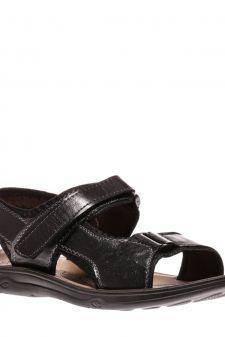 Sandale barbati Oscar negre
