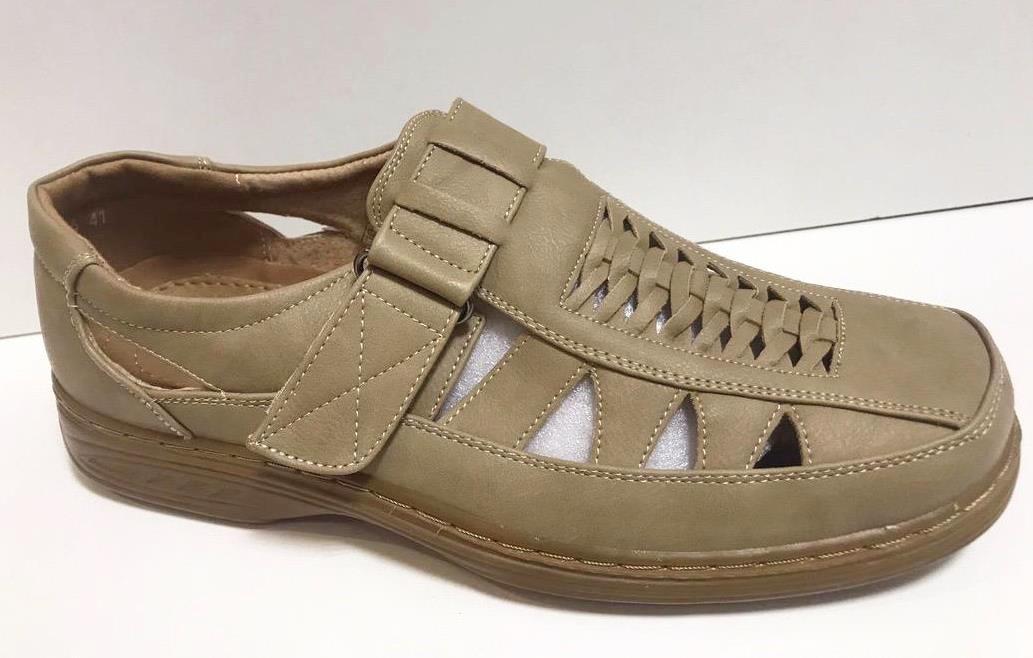 Sandale barbati kaki Paul