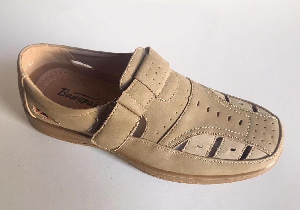 Sandale barbati khaki Valentin