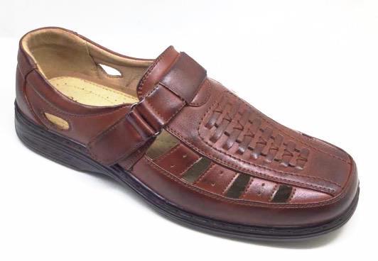 Sandale barbati maro Costin