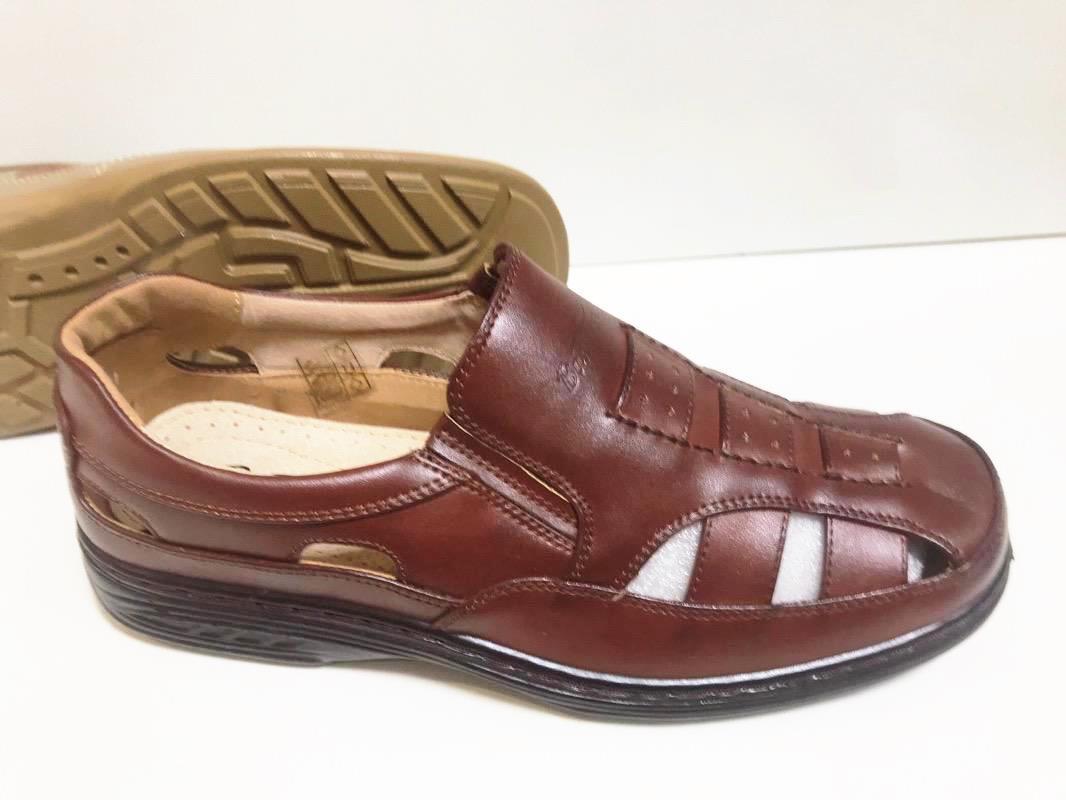 Sandale barbati maro Razvan