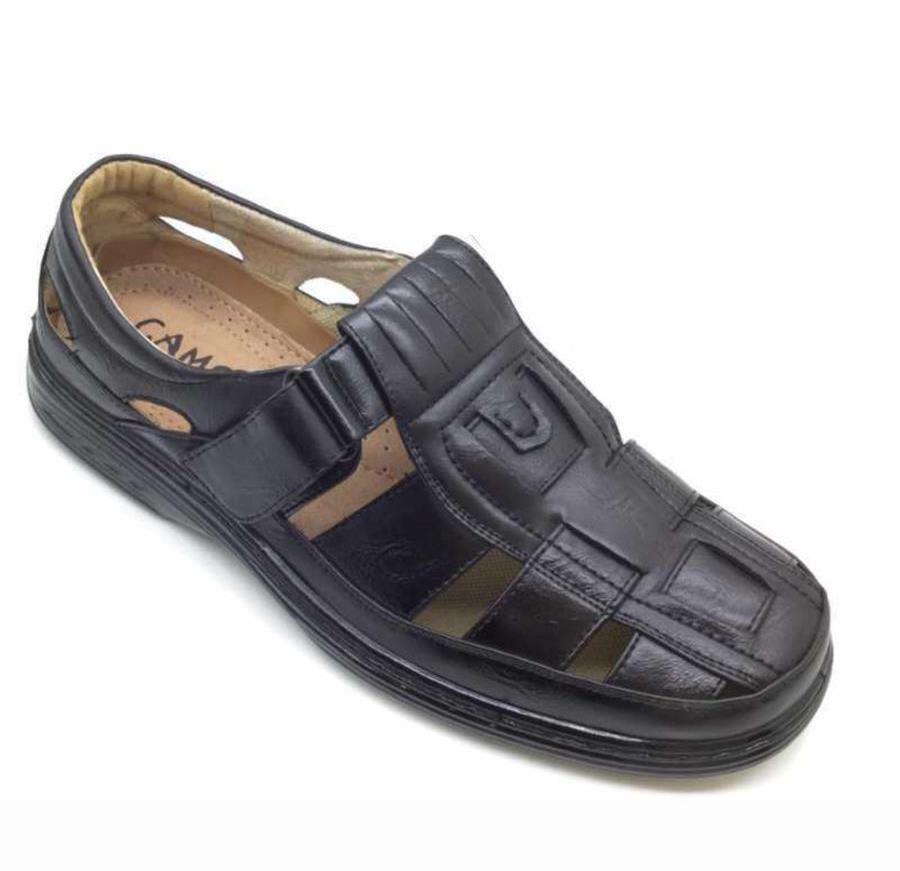 Sandale barbati negre Adrian