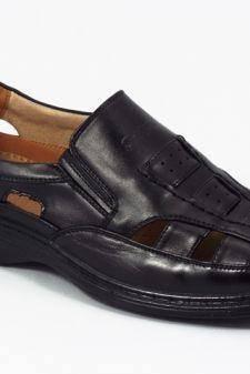Sandale barbati negre Kosta