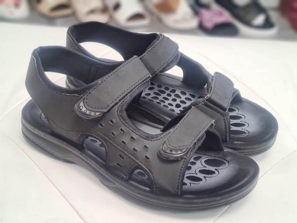 Sandale barbati negre Matei
