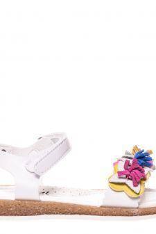 Sandale copii F8001 albe