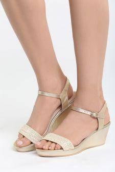 Sandale cu platforma Aracena Aurii