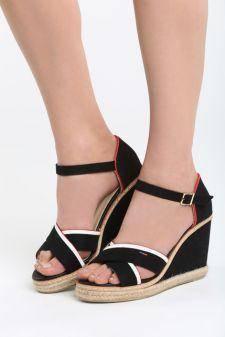 Sandale cu platforma Araxa Negre