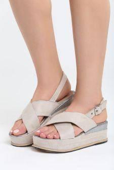 Sandale cu platforma Ardisa Bej