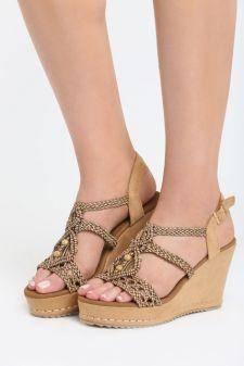 Sandale cu platforma Camerota Maro