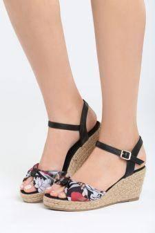 Sandale cu platforma Cartagena Negre