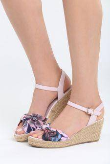 Sandale cu platforma Cartagena Roz