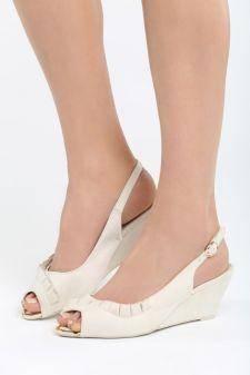 Sandale cu platforma Childish Bej