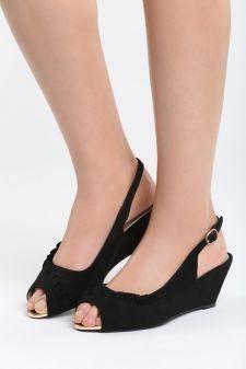 Sandale cu platforma Childish Negre