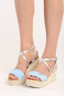 Sandale cu platforma Consuela L Blue