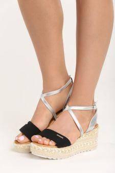 Sandale cu platforma Consuela Negre