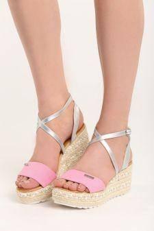 Sandale cu platforma Consuela Roz