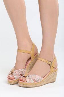 Sandale cu platforma Dormida Roz