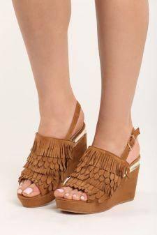 Sandale cu platforma Dorothea Camel