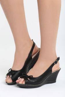 Sandale cu platforma Faint Negre