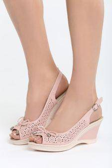 Sandale cu platforma Faint Roz