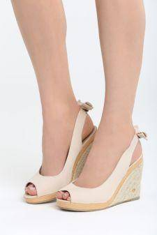 Sandale cu platforma Florencia Bej