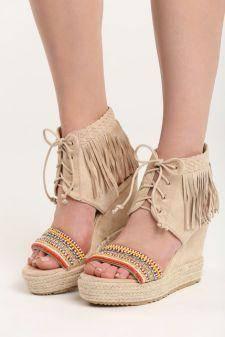 Sandale cu platforma Ines Bej