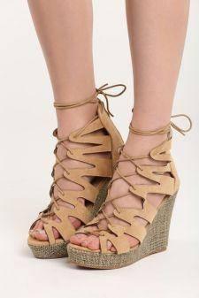Sandale cu platforma Iustina Bej