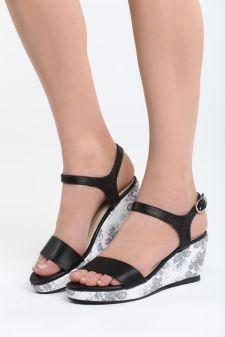 Sandale cu platforma Jaiba Negre