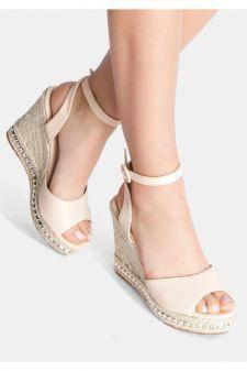 Sandale cu platforma Lulu Bej