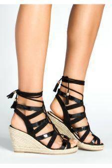 Sandale cu platforma Odesse Negri