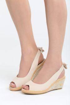 Sandale cu talpa ortopedica Laguna Bej