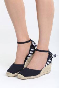 Sandale cu talpa ortopedica Quizarra Navy