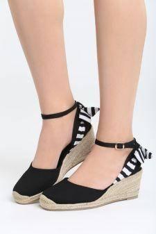 Sandale cu talpa ortopedica Quizarra Negre